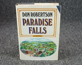 Paradise Falls 2 Vol Set By Don Robertson C. 1968