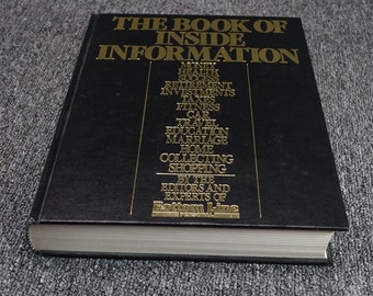 The Book Of Inside Information Money, Health, Success. C. 1986