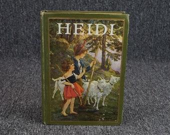 Heidi By Johanna Spyri C. 1924
