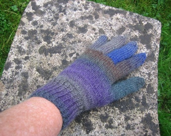 unisex adult wool knitted gloves,winter gloves,multicoloure glove,dads gift,autumn gloves,winter gloves,unisex gloves,traditional gloves
