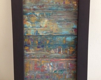 Mixed Media, Reclaimed Wood Wall Art, Rustic Wood Wall Art, Wood Art, Eco Art