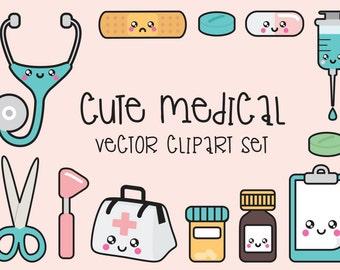 Medical clipart | Etsy