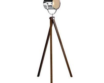 Old Camera Floor Lamp