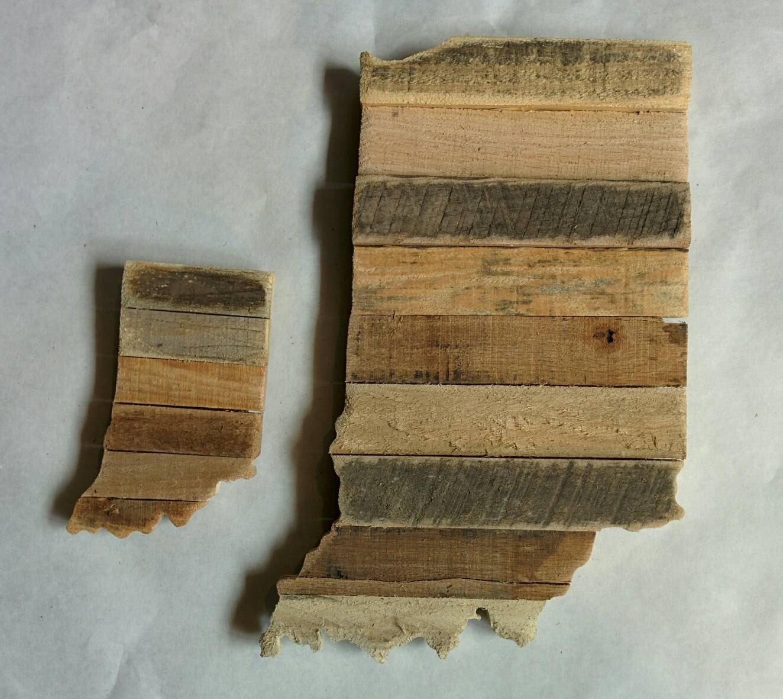 ... Indiana - Reclaimed Wood Cutout. 🔎zoom - Indiana Reclaimed Wood Cutout