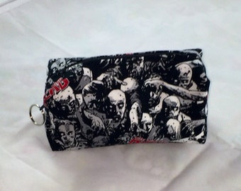 Walking Dead Zombie Herd Cosmetic Bag