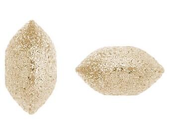 8mm Gold Filled Stardust Saucer Beads 14/20kt. - 10 pcs.