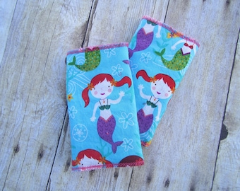 Mermaid Drool Pads for baby carrier (including Ergo, Tula, Lillebaby and more)