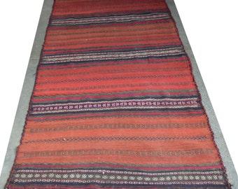 261 by 114 CM Vintage Tribal Nomadic Kochi Runner