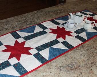 Stars and Strips Table Runner