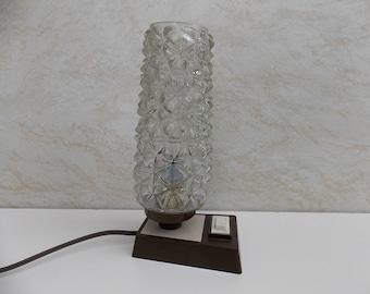 Vintage Table Lamp / Desk Lamp / White lamp / Bedside Lamp / Night Lamp / Germany Lamp / Small lighting / night lamp