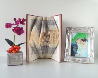 Wedding gifts personalized - Wedding guestbook - Gift for bride from bridesmaid - Gift for bride from sister - Gift for bride from groom 001