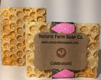Celebration Soap Handcrafted-Natural Soap-Artisan Soap