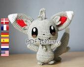 Crochet pattern Minccino (Pokemon)