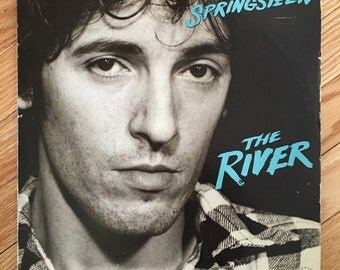 1980 Bruce Springsteen 'The River' Double LP vintage vinyl records in very good condition