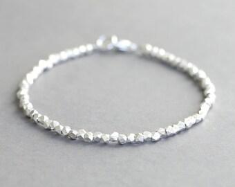 Karen Hill Tribe Silver Bracelet Simple Silver Bracelet Stacking Bracelet Silver Bracelet