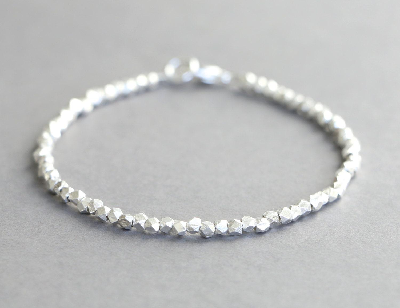 Karen Hill Tribe Silver Bracelet Simple Silver Bracelet