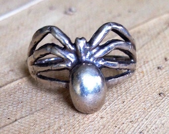 Sterling Silver - Tarantula Spider 2.7g - Ring (4.5) or Best Offer
