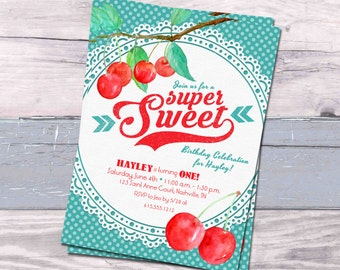 Cherry Invitation