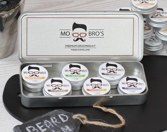 Mo Bro's - Beard Conditioning Balm 15ml Tin - Choose from Over 6 Scents - Made in the United Kingdom