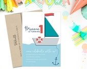 Kids Nautical Birthday Pa...