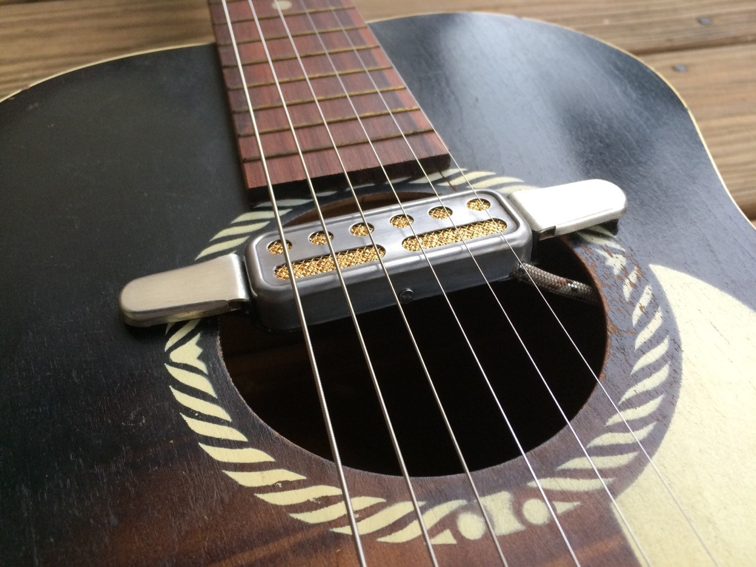 victory traditions acoustic guitar pickup. Black Bedroom Furniture Sets. Home Design Ideas