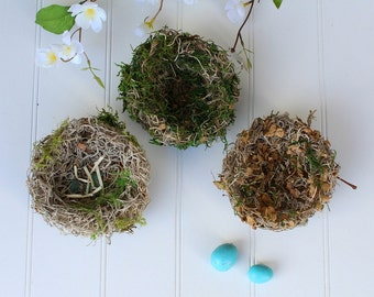 Bird Nest Trio Set - Handmade