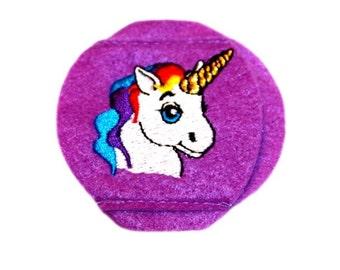 Child Unicorn Eyeglass Eye Patch