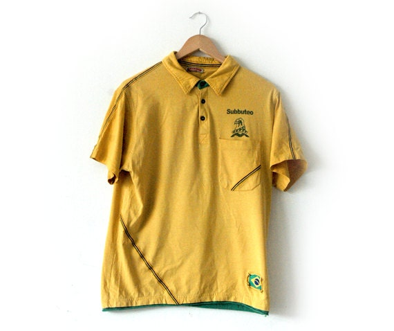 Subbuteo Brazil retro tee
