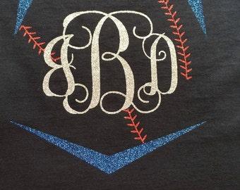 Monogrammed Baseball Shirt