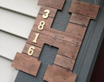 Customized House Number