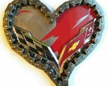 "7""   Corvette C7 Heartbeat of America LS Chevy Bowtie"
