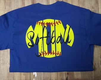 Softball Mom Shirt, Softball Tee, Softball  Mom Tee, Sofball Mom T-shirt, Softball Mom Shirt, Softball Mom Tee, Softball Mom Shirt
