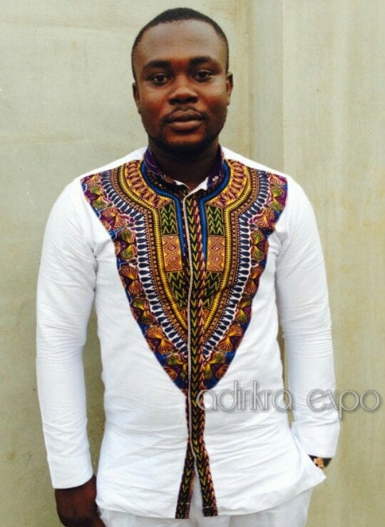 mens dashiki shirt dashiki shirt african print