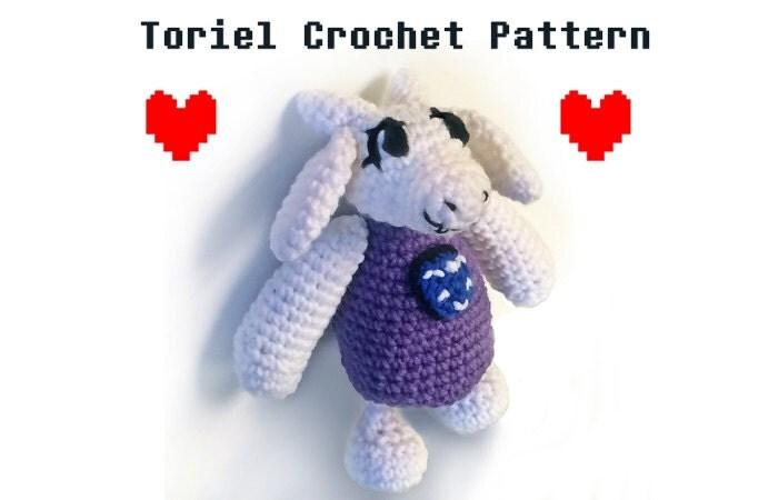 Amigurumi Undertale : Undertale Crochet Toriel Amigurumi Pattern Kawaii Crochet