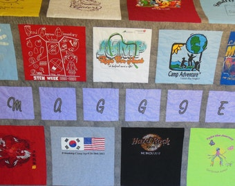 Add On Personalized Embroidered/Appliqued Name to Quilt Purchase!!!