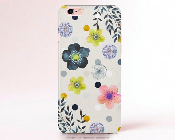 iPhone SE Case Floral iPhone 5 Plus Case Floral iPhone 5s Case Floral iPhone 6 Case Spring Floral Samsung Galaxy S7 Case Galaxy s5 Case 284