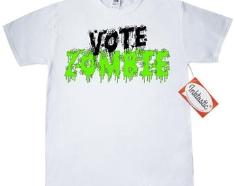 Vote Zombie T-Shirt by Inktastic