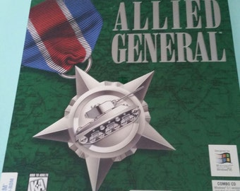 Vintage Allied General SSI Wargame 1995 New Old Stock Free Shipping
