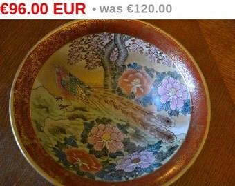 winter sales Vintage Satsuma bowl hand painted xr.mar.041