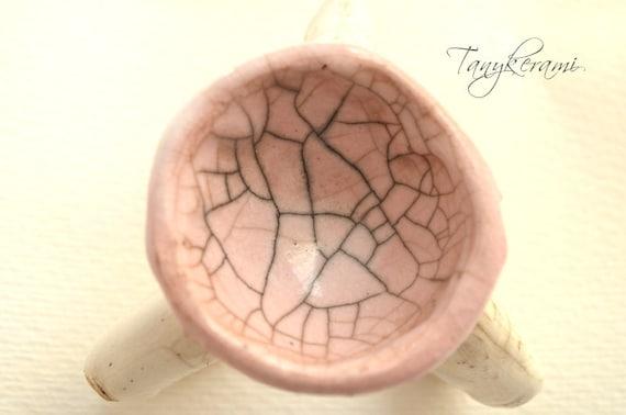 Portavelas de cerámica con dedos candil de por tanykerami en etsy