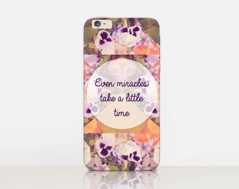 Miracle Quote Phone Case For - iPhone 6 Case - iPhone 5 Case - iPhone 4 Case - Samsung S4 Case - iPhone 5C - Tough Case