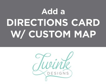 Add a Directions Card with Custom Map