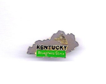 Vintage Kentucky Bluegrass State Hat/Lapel