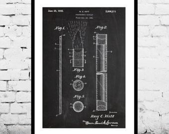 Fireworks Patent, Fireworks Poster, Fireworks Blueprint,  Fireworks Print, Fireworks Art, Fireworks Decor p119