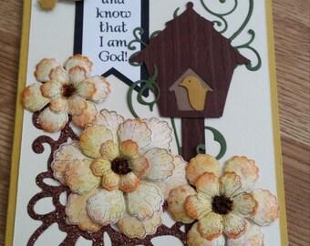 Be Still Handmade Greeting Card