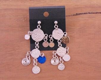 Drop Confetti Earrings