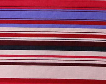 100% Rayon with Colored Lines Print Fabric by the yard