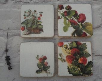 Reclaimed Wood Coasters, Wood Coaster Set, Drink Coasters, Handmade Pallet Wood Coasters, Rustic Coasters, Wooden Coaster, Kitchen Decor