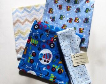 Burp Cloths - Boy - Choose 2
