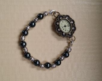 beaded watch band